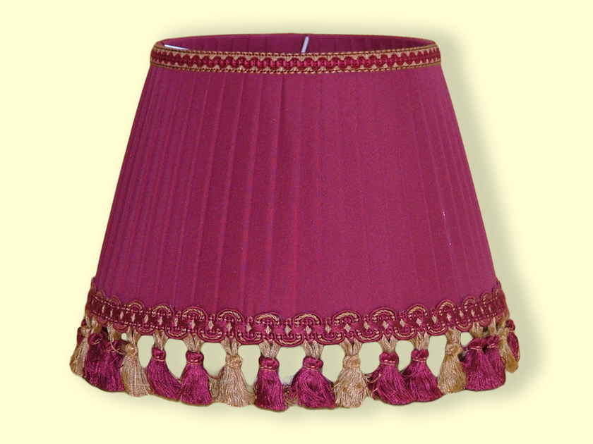 Cone shaped pleated fabric lampshade CLASSIC | Cone shaped lampshade by Ipsilon PARALUMI
