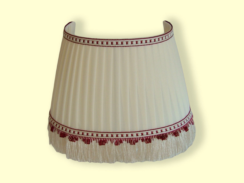 Pleated fabric lampshade CLASSIC | Pleated lampshade by Ipsilon PARALUMI