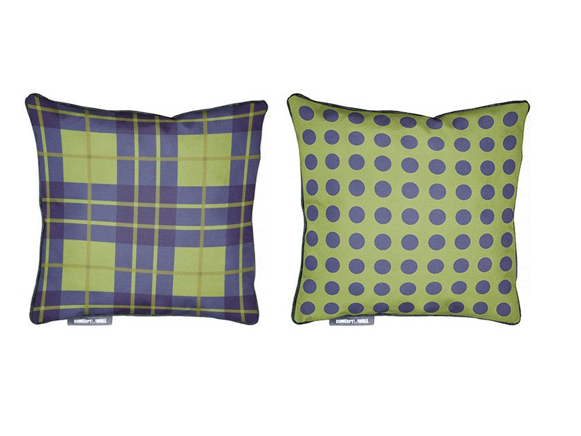 Square fabric cushion