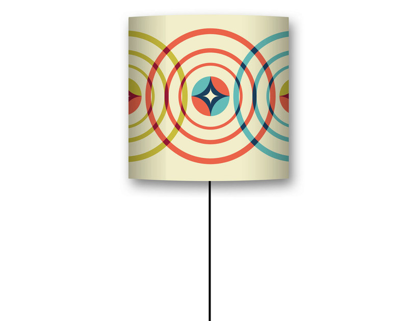 Drum shaped lampshade BOBARNOUM by CONCEPTUWALL