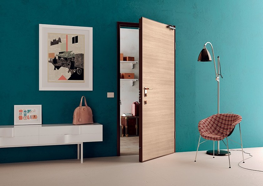 Fire-rated safety door DRAGO - DI.BI. PORTE BLINDATE