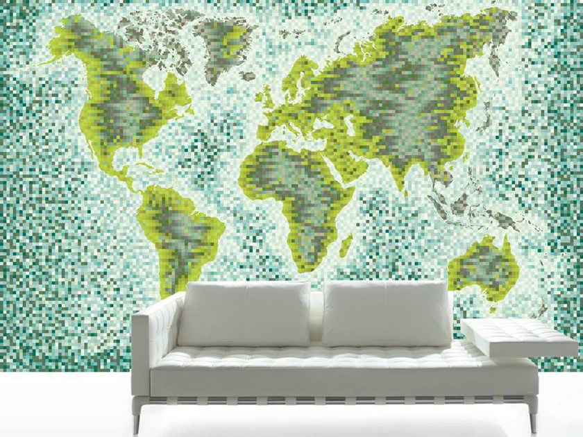 Panoramic WORLD-PIXEL by CONCEPTUWALL