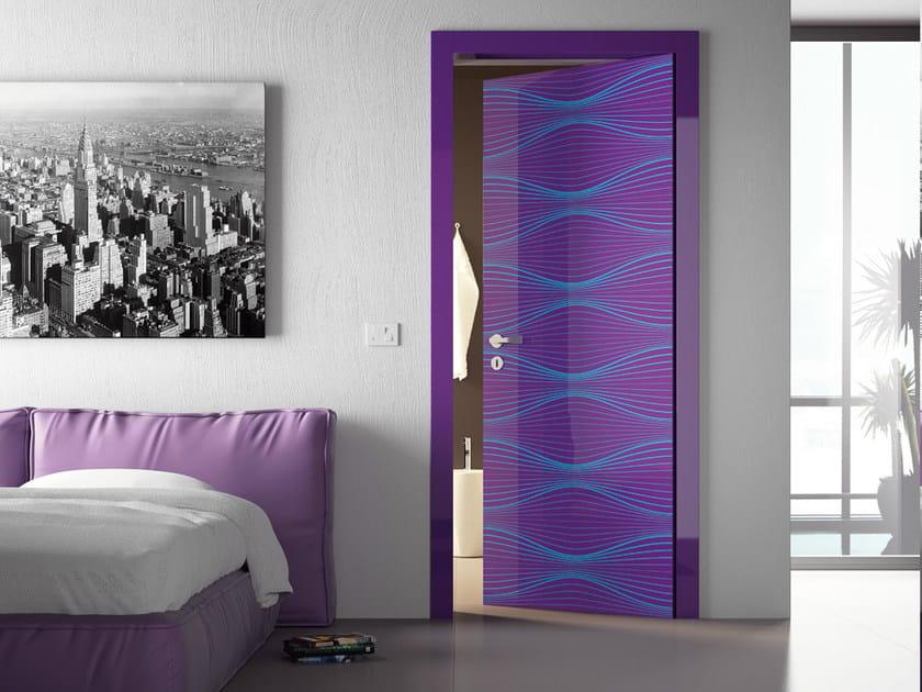 Door flush with the wall SENSUNELS by DiBi Porte Blindate