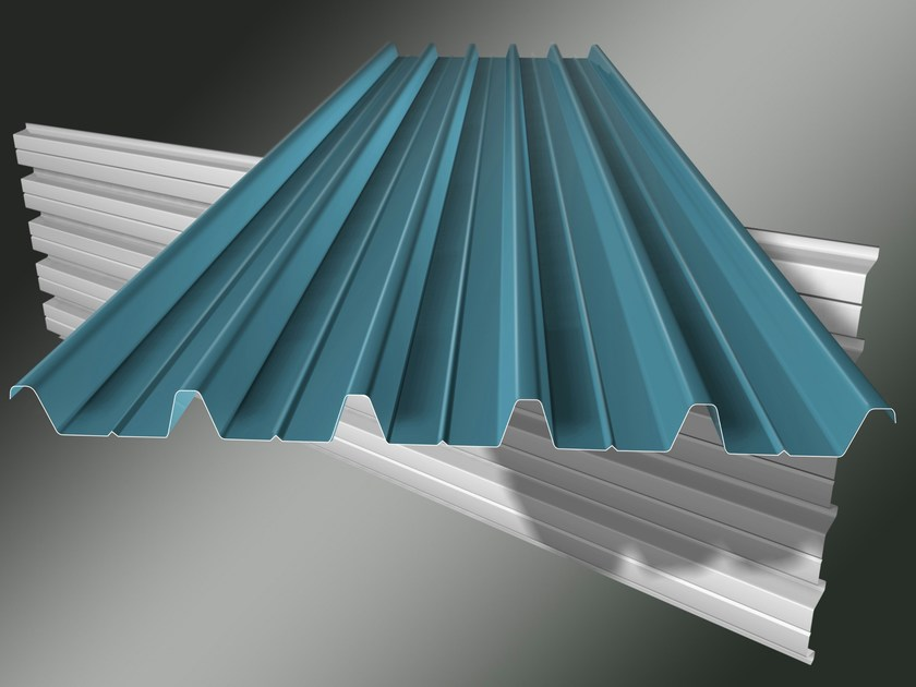 Metal sheet and panel for roof S/C 2000 - Isolpack