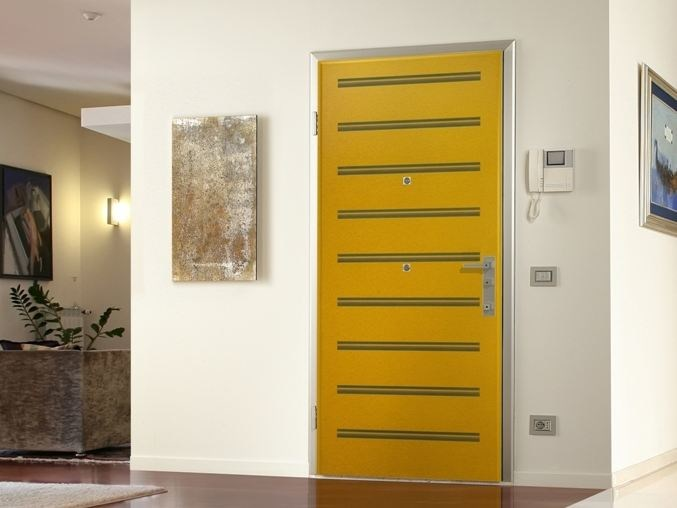 HDF armoured door panel DIBIDOKU INTARSIO by DiBi Porte Blindate