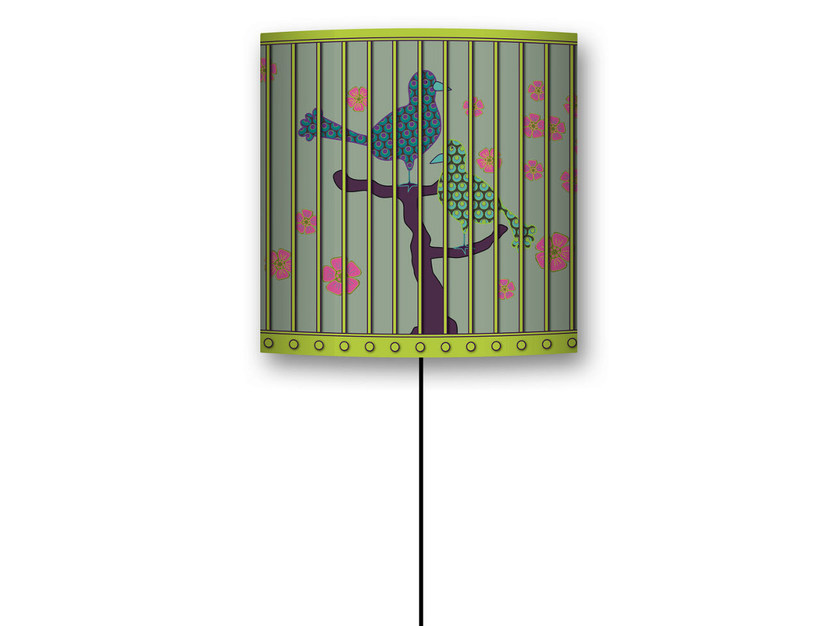Design drum shaped nonwoven lampshade