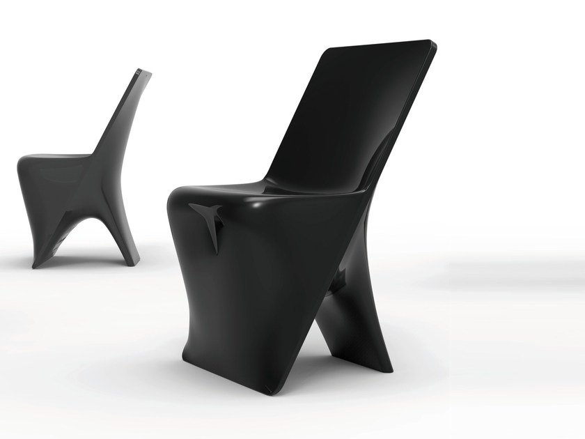 Polyethylene chair SLOO | Chair - VONDOM