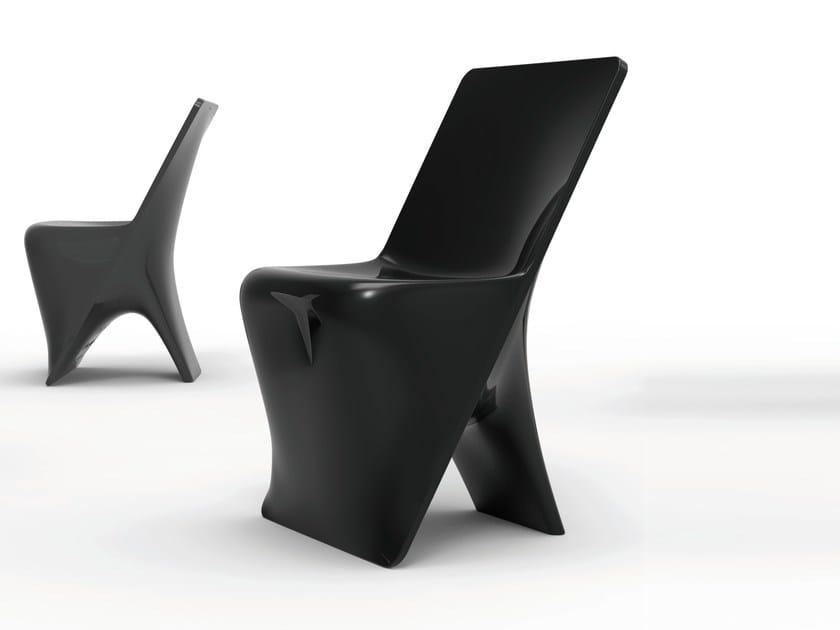 Polyethylene chair SLOO | Chair by VONDOM