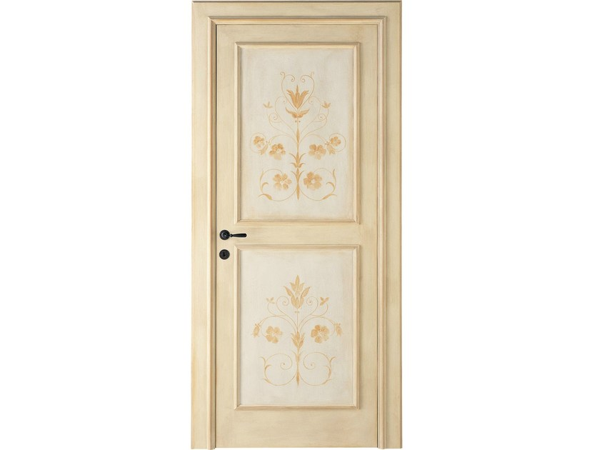 Porte interne decorate a mano lunamare antiche porte for Dibi porte blindate