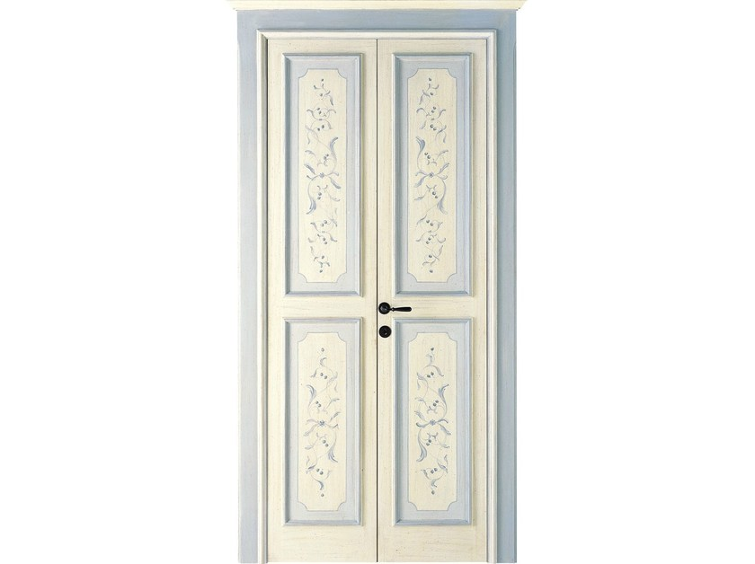 Porte interne decorate a mano lunamare antiche porte dibi porte blindate - Porte decorate per interni ...