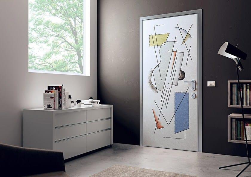 Pannello di rivestimento per porte blindate evotech dibi porte blindate - Decorazioni porte interne ...