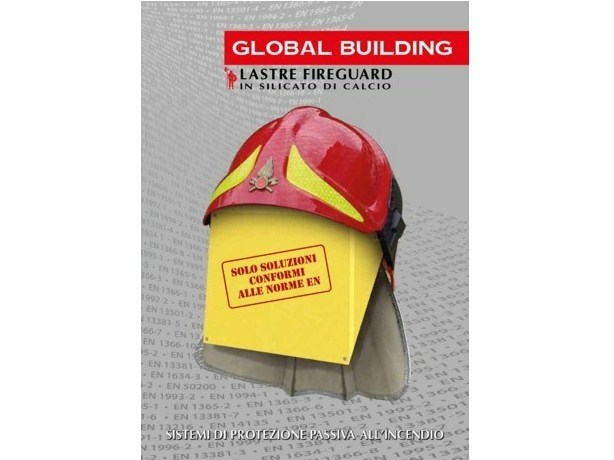 Passive fire protection systems Fireproof panel for interior partition by GLOBAL BUILDING