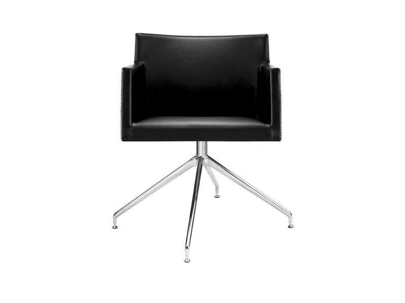 Swivel trestle-based task chair with 4-Spoke base MASAI | Task chair with 4-Spoke base by arper