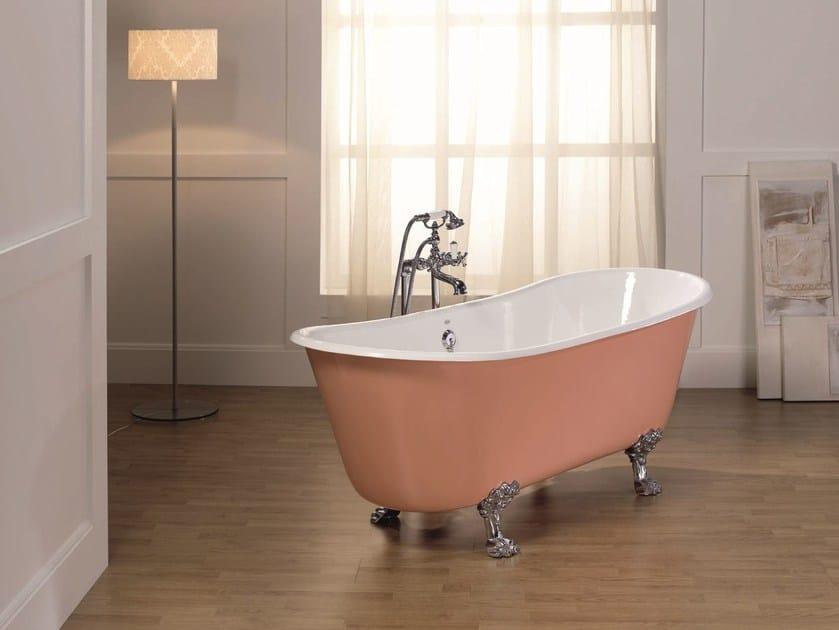 Bathtub on legs ROMARIN - BLEU PROVENCE