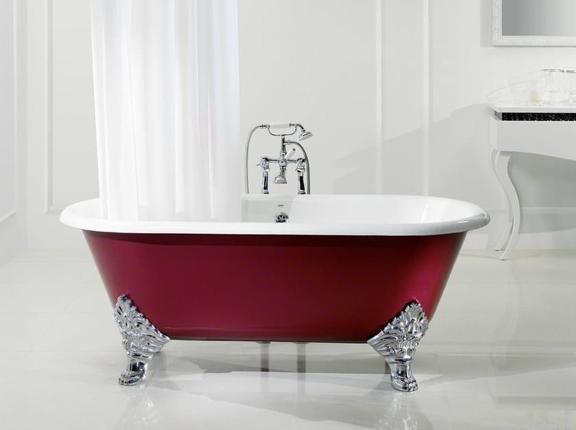 Bathtub on legs JASMIN - BLEU PROVENCE