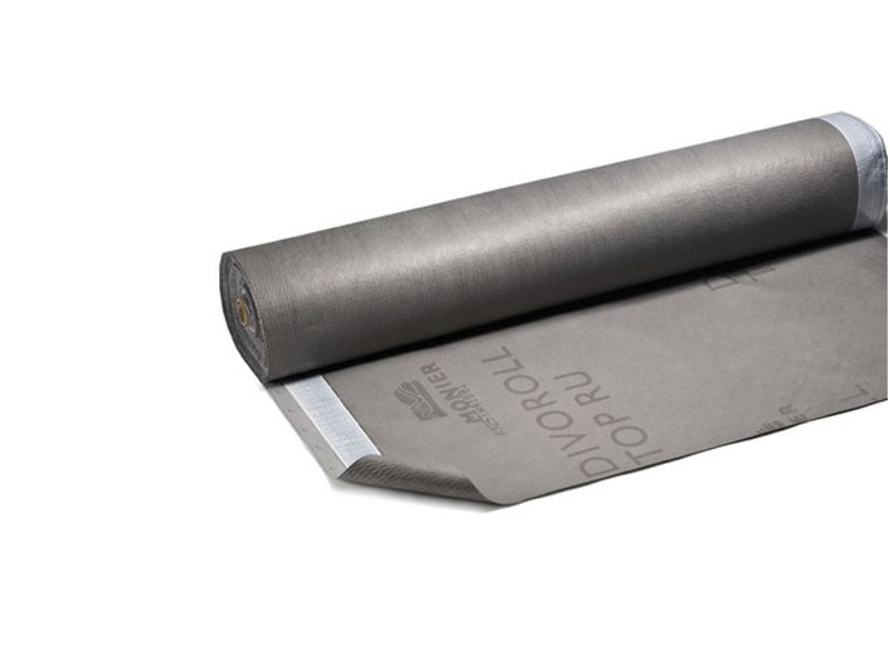 Prefabricated bituminous membrane DIVOROLL TOP RU by MONIER