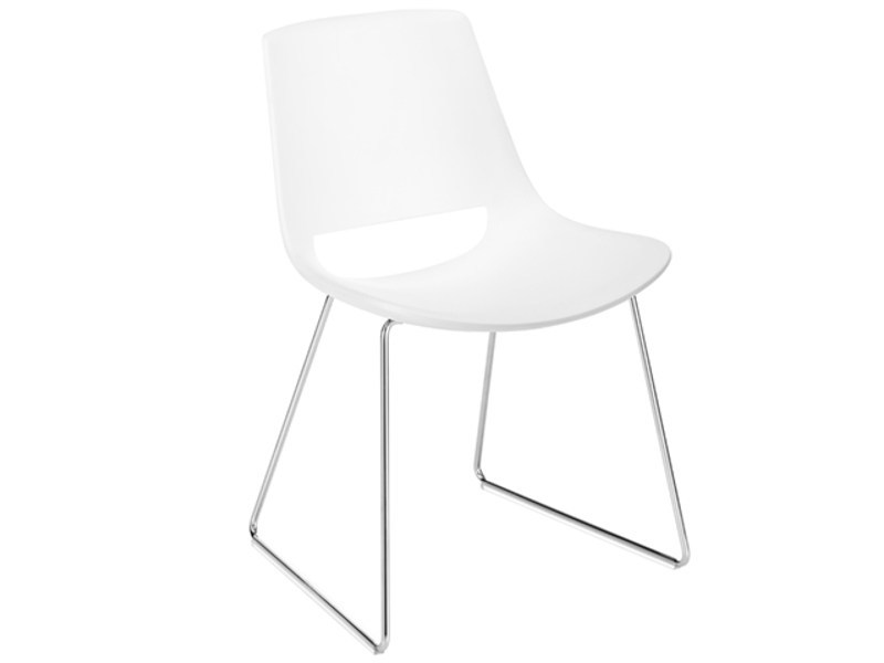 Sled base chair PALM | Sled base chair by arper