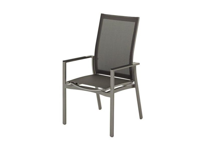 Recliner garden chair with armrests AZORE | Recliner garden chair by Gloster