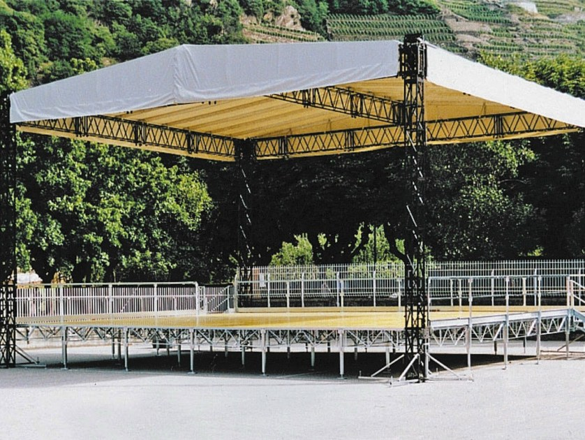 Metal truss and metal roof structure STRONG - SELVOLINA
