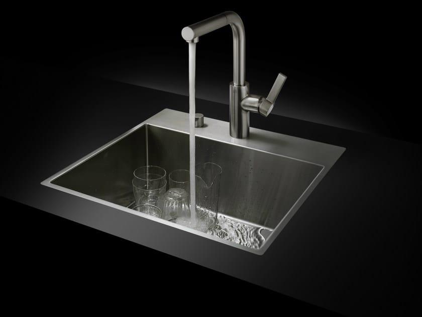 Lavelli Cucina Inox Incasso : Lavello da incasso in acciaio inox collezione water units