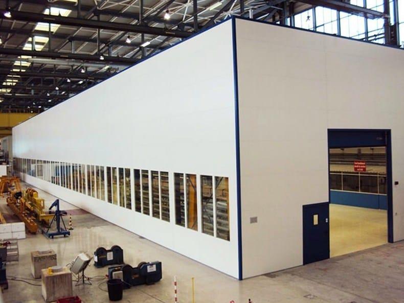 Elemento strutturale prefabbricato per copertura capannoni for Kopron capannoni