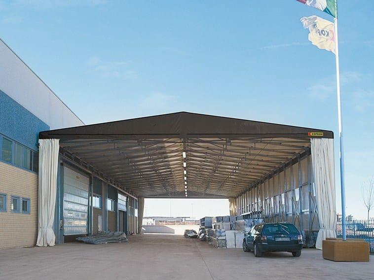 Sistema costruttivo in carpenteria metallica capannoni in for Kopron capannoni