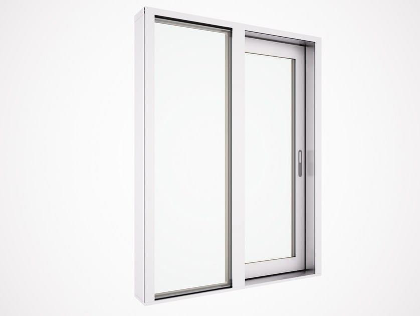 Porta finestra alzante scorrevole in alluminio e legno eternity maxi zero serie eternity maxi by - Porta finestra in alluminio ...