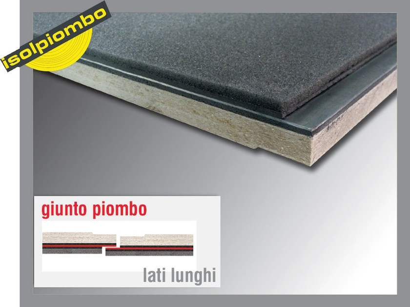 Sound insulation and sound absorbing felt with lead-laminate ACUSYSTEM S by Thermak by MATCO