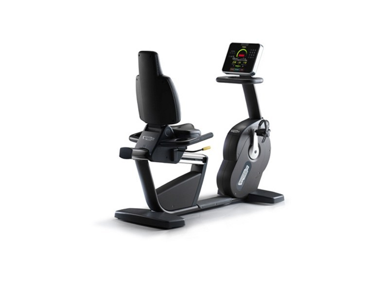 V lo d appartement new recline forma by technogym - Support velo appartement ...