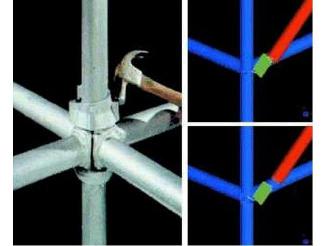 Finite element (FEM) structural resolver Straus7 - PONTEGGI by HSH