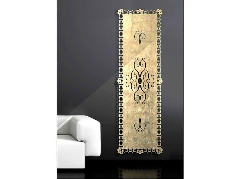 Wall-mounted aluminium decorative radiator FLORENCE - BLEU PROVENCE