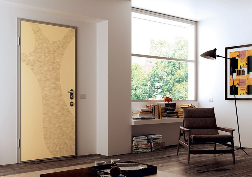 Acoustic safety door LINEA SOUND - DI.BI. PORTE BLINDATE