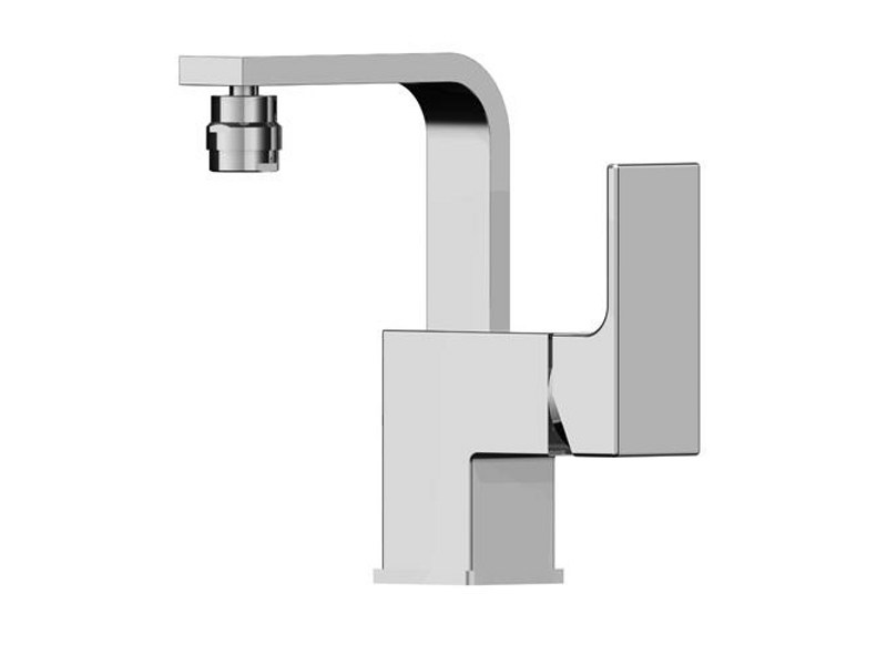 Bidet mixer without waste KUBIK by Gattoni Rubinetteria