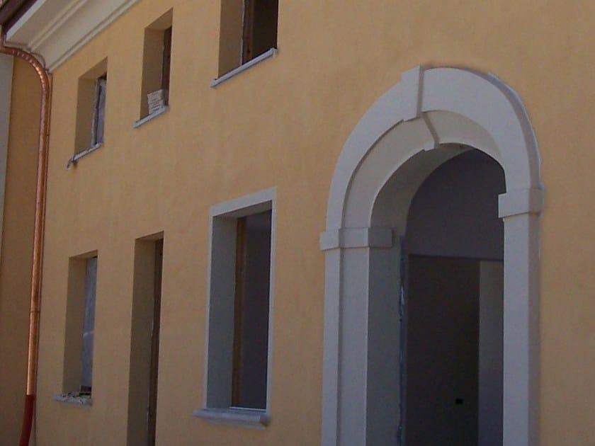 Cement door jamb / arched doorway CEMENT   Door jamb by BACCARO I CEMENTISTI
