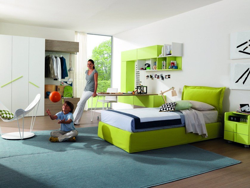 Fitted teenage bedroom Z234 | Bedroom set - Zalf