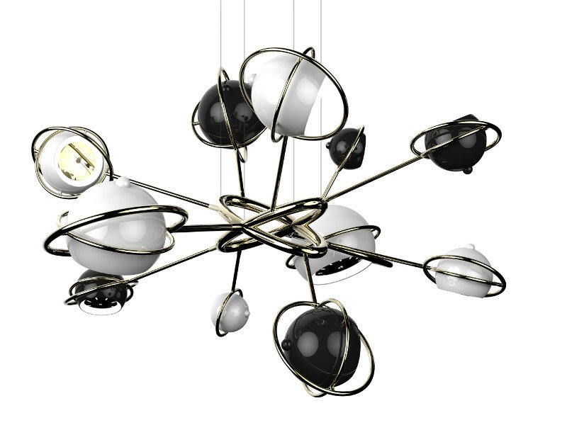 Adjustable pendant lamp