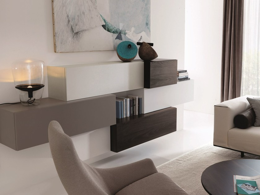 Sectional storage wall G45 | Storage wall by Zalf