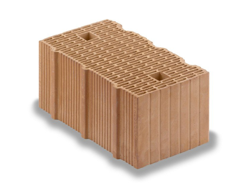 Thermal insulating clay block Porotherm BIO PLAN - WIENERBERGER