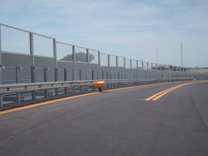 Road Noise Barrier Akuglass By Sitav Costruzioni