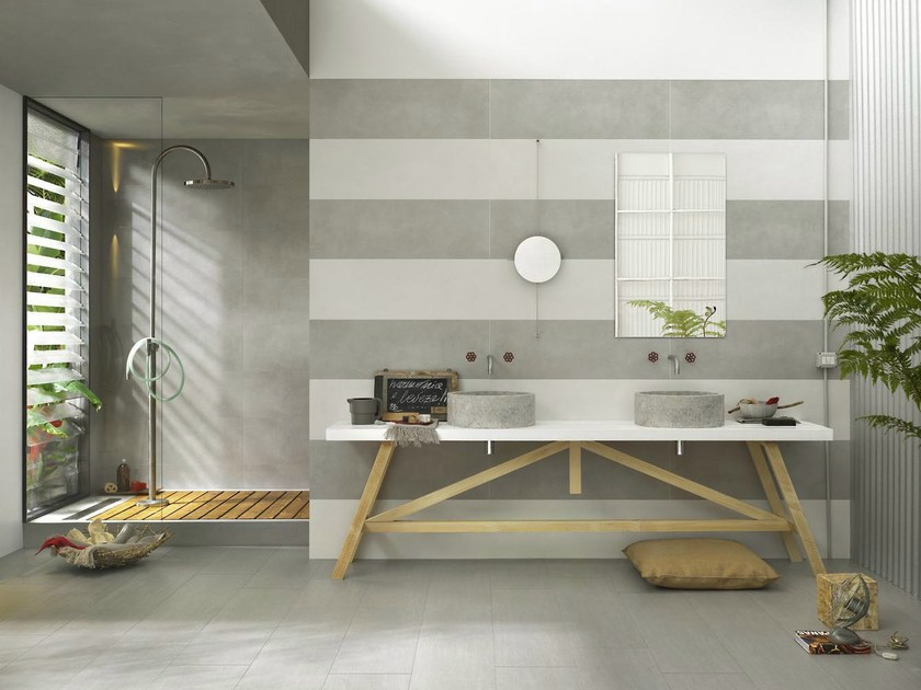 Indoor white-paste wall tiles OFICINA7 by MARAZZI
