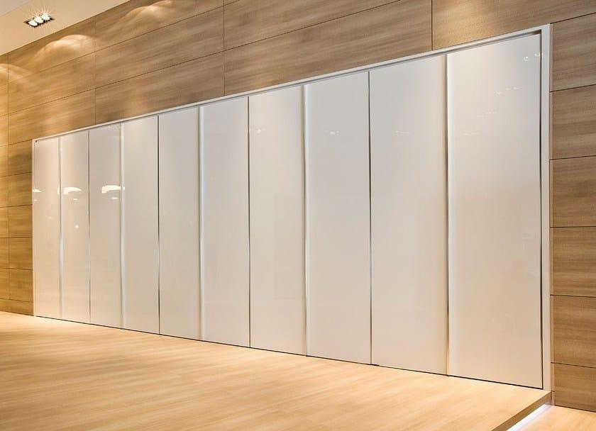 Parete mobile porta flecto parete mobile a libro movi italia - Parete divisoria mobile ...