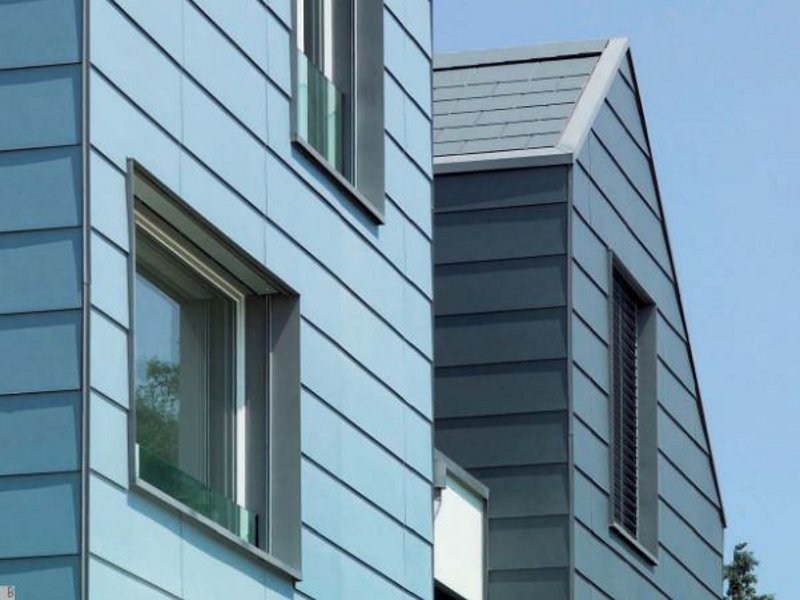 Dry-laid cement and fibre cement sheet CLINAR CLIP by SWISSPEARL Italia