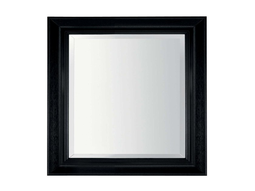 Square wall-mounted framed mirror RIVER by GENTRY HOME