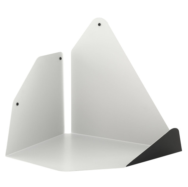 Stainless steel wall shelf RECOIN by Ligne Roset