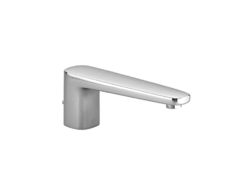Design chrome-plated bathtub spout with diverter