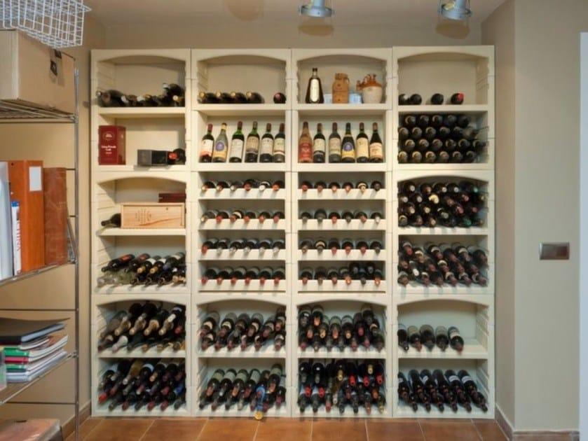 Concrete bottle rack Bottle rack - SAS ITALIA - Aldo Larcher
