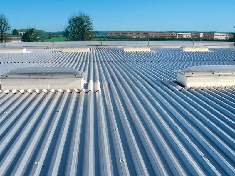 Metal sheet and panel for roof GENUS 45 by Unimetal