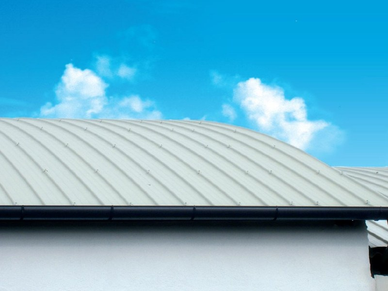 Metal sheet and panel for roof GENUS 1000 by Unimetal