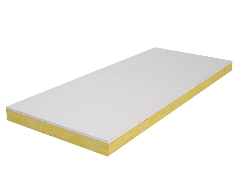 Sound insulation and sound absorbing panel in mineral fibre ISOLASTRE® LM 85 - Knauf Italia