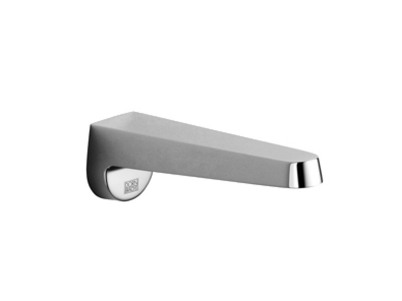 Wall-mounted bathtub spout
